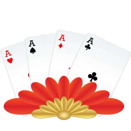 four of a kind: Four of a kind winning poker hand