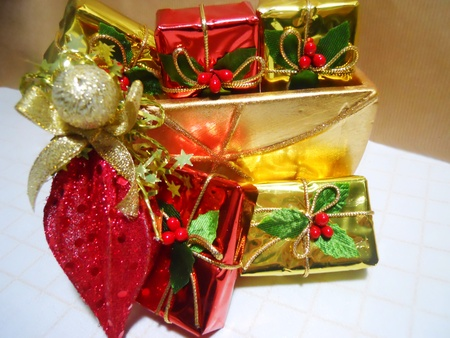 christmas gifts Stock Photo - 11124771