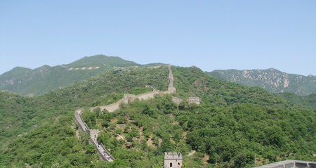 great wall - beijing photo