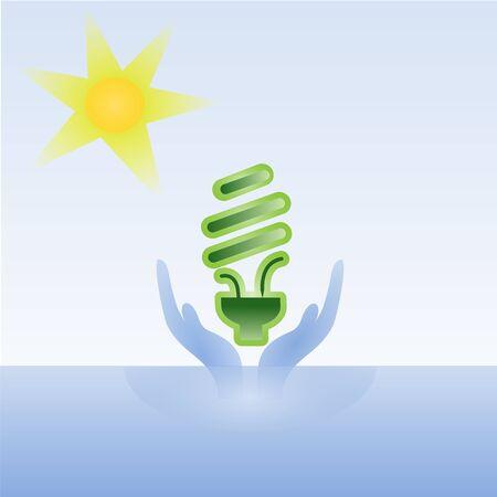 clean energy Stock Vector - 11662273