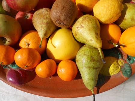 variety of fruit Stock Photo - 12553410