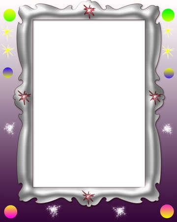 glitter frame