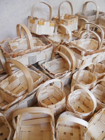 handmade baskets           photo