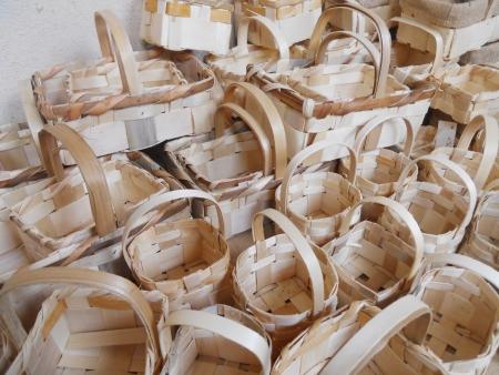 handmade baskets Stock Photo - 13879012