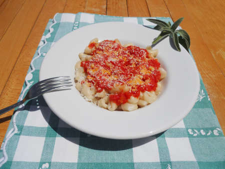 cavatelli with ricotta and sage