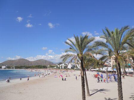 palma:  palma de mallorca  alcudia beach
