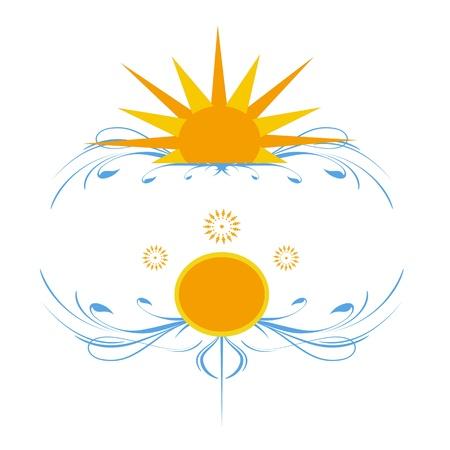 solar fantasy Stock Vector - 16925985