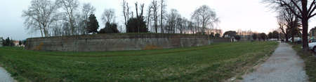 lucca: lucca walls Stock Photo