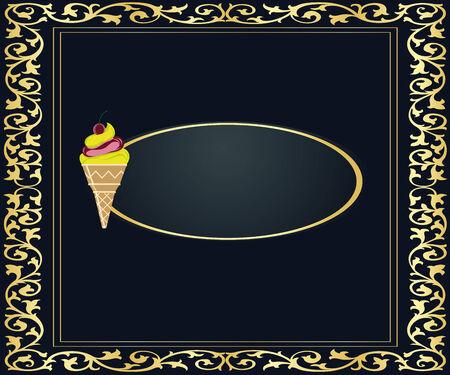 teaches: ice cream banner