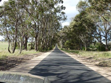 Australian Road Stock Photo