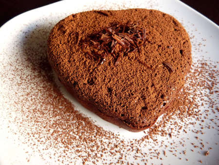 Chocolate sweet heart