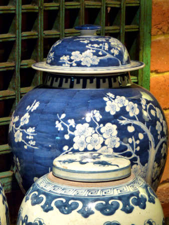 Chinese Blue Jars
