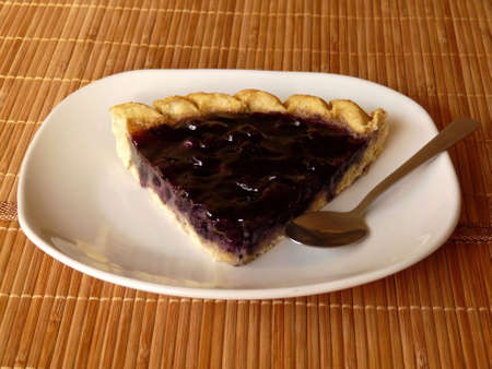 Blueberry tart Stock Photo