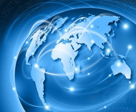 verbonden wereld