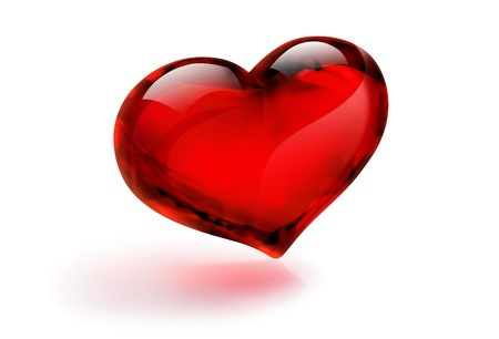 cordial: red heart single