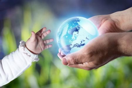 geef de wereld de nieuwe generatie