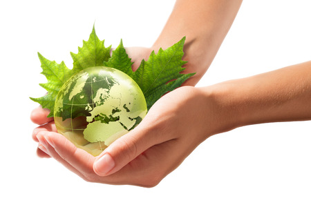 conservation: green world in the hands - europe - sustainable Development