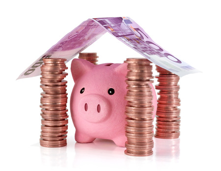 put your savings safe - Savings for real estate project  photo