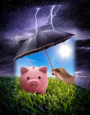 savings risk: concept to ensure savings
