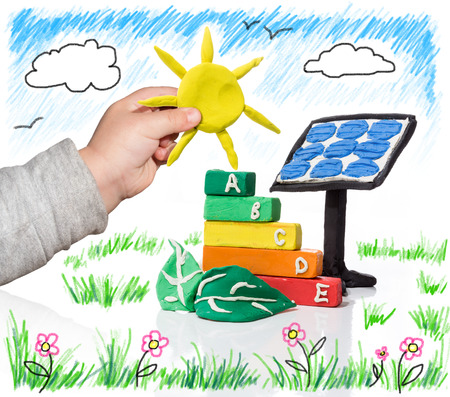 green economy: new generation that thinks of the photovoltaic