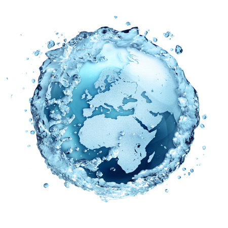 water recycle on the world - Europe photo
