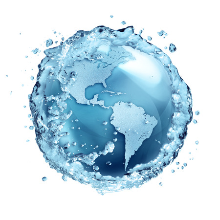 water recycling: water recycle in world Usa  Stock Photo