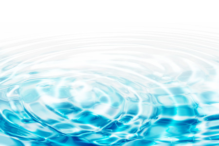 water rimpelingen - turquoise concentrische cirkels