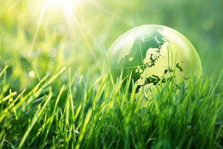 protect earth: world environmental concept - Europe