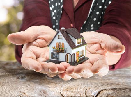 nalatenschap: erfelijkheid concept Legacy Real Estate Stockfoto
