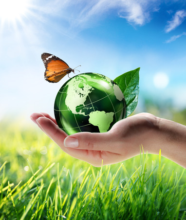 eco energy: eco-friendly concept