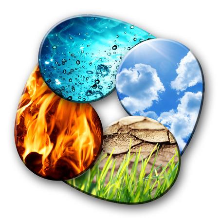 elements: cuatro elementos de la Naturaleza