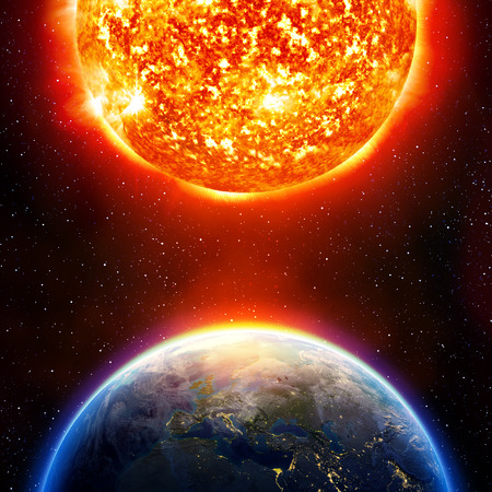 calentamiento global: el calentamiento global de la tierra