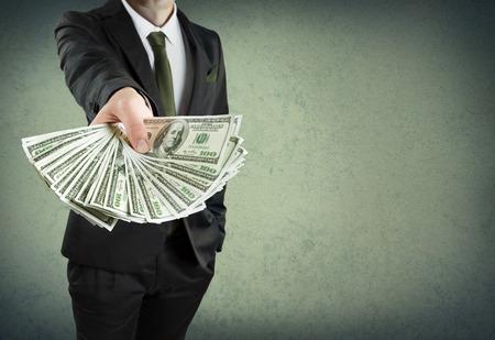 pieniądze: Kredyt bankowy, gotówka lub koncepcji