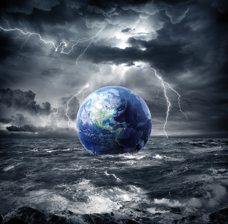 earth in the storm - apocalypse in Usa