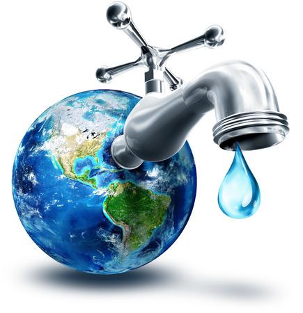 Het concept van het behoud van water in Amerika