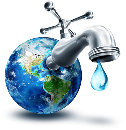 planeten: Konzept der Wasserschutz in Amerika