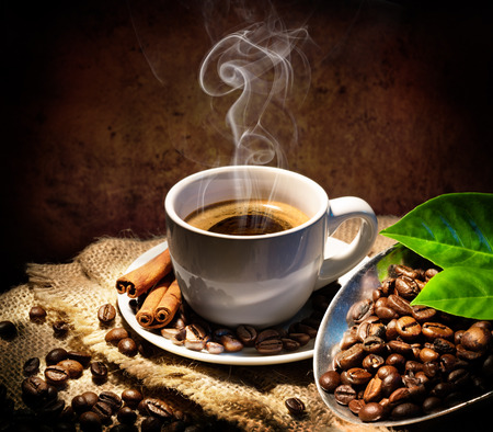 taste: In Taste And Aroma Traditional Coffee Cup