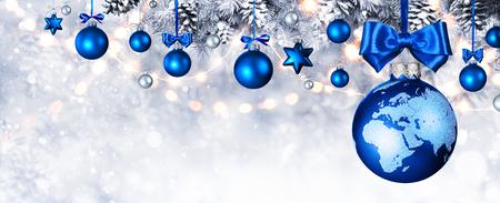 Wesołych Świąt na świecie Zdjęcie Seryjne