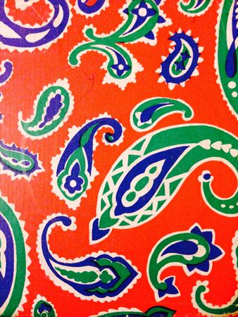 design: Paisley design pattern Stock Photo