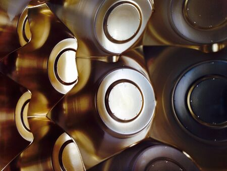 metallic: Chocolate box wrapper texture