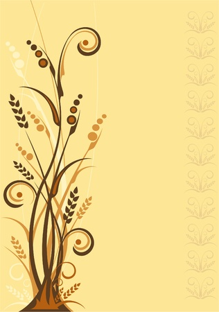 steppe: Vector Steppe Background