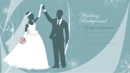 Wedding background, EPS10 Vector