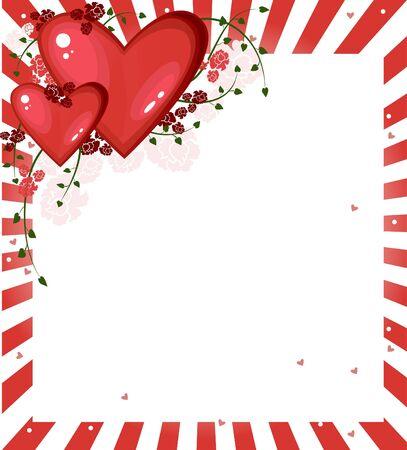 心でバレンタイン カード