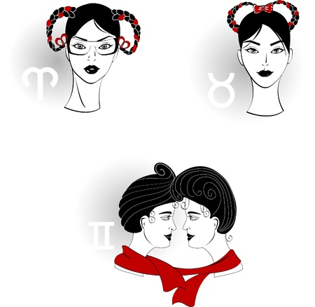 gemini girl: Zodiac Signs 2