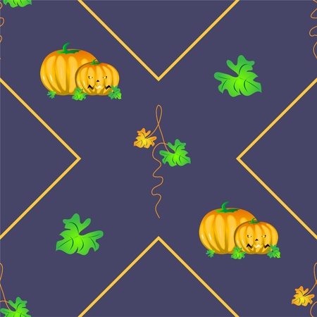 Halloween seamless background  Vector