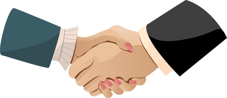 Handshake Stock Vector - 13159336