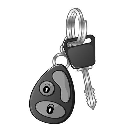 autos: Autos key Illustration