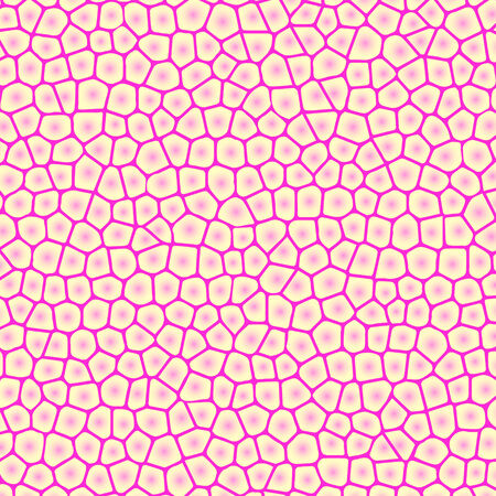 Abstract pink background with cells, not seamless