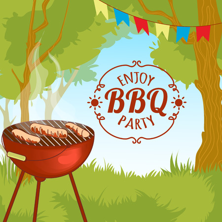 outdoor party: Barbecue grill