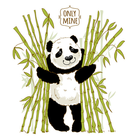 govern: Big panda owns his bamboo